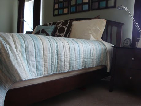 Quilted Bed Skirt Full