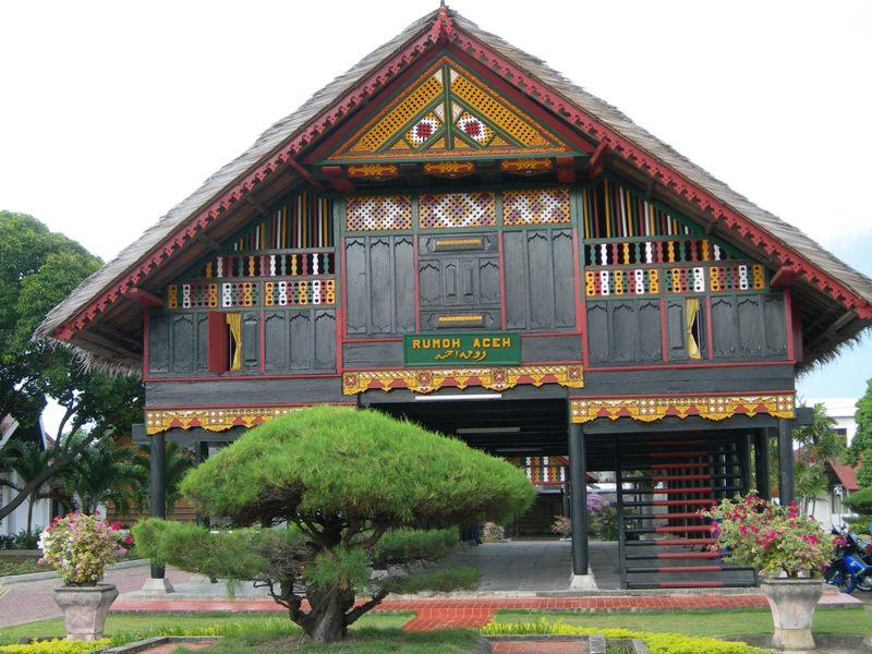 provinsi sumatera utara atau sumut rumah adat tradisional rumah