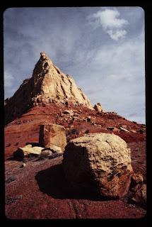 Gary's image of the desert