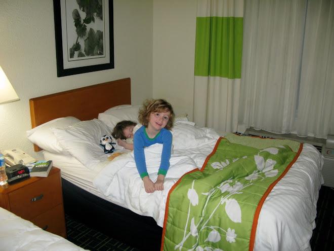 Hotel is fun!