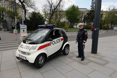 World Smallest Police Cars