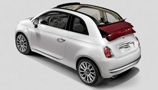 Fiat 500C Rag-top Convertible
