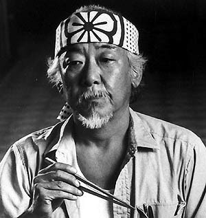 The Karate Kid Sr+miyagi