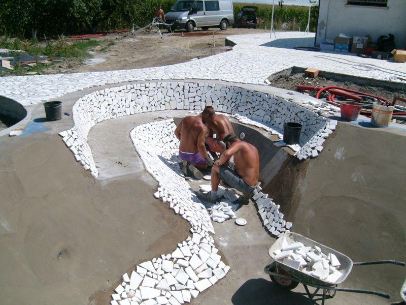 La mia piscina da sogno for Costruire un biliardo