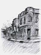 Dibujos de Paisajes calle guaycuru