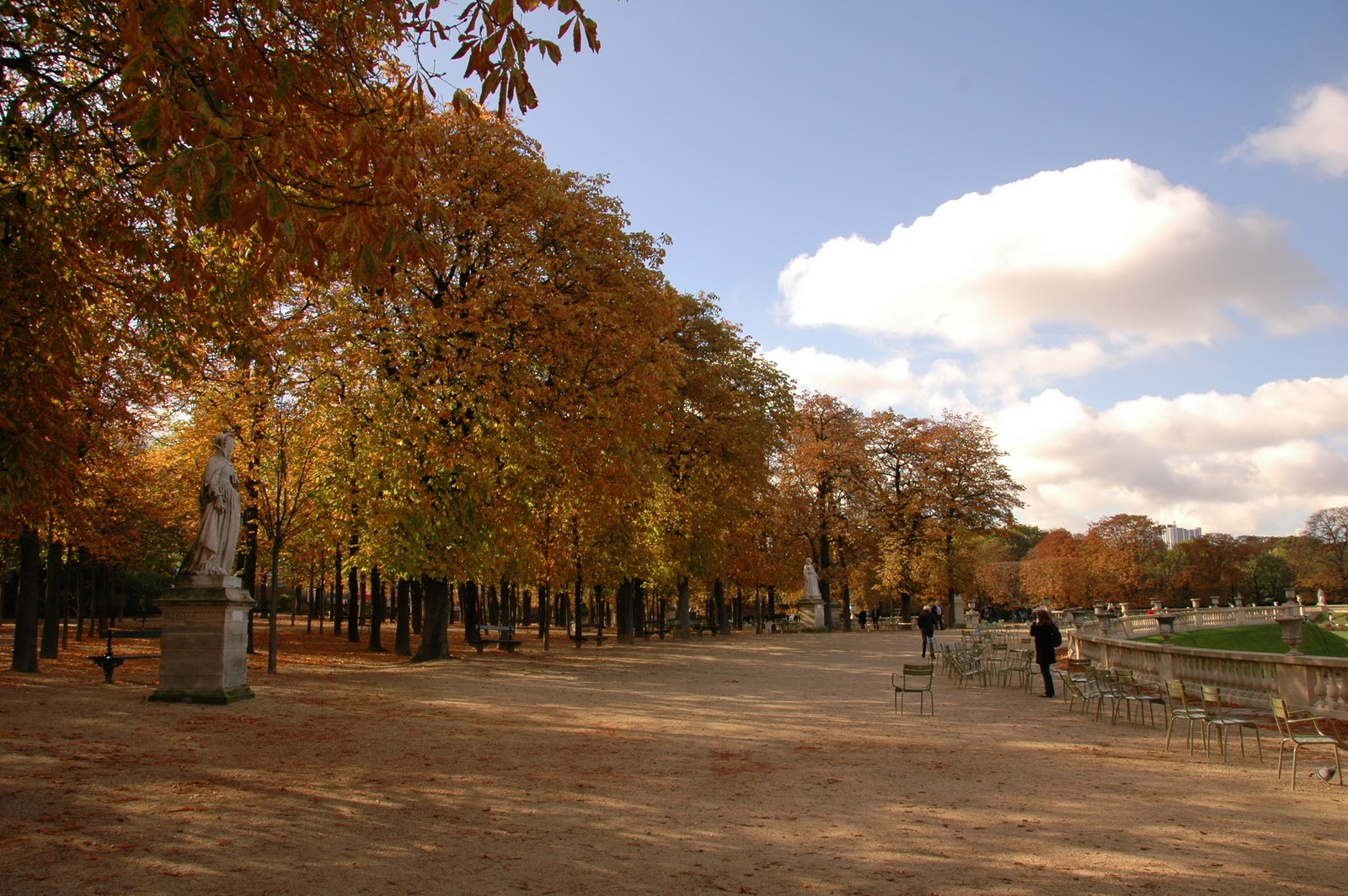 My notes from the field photo essay perfect light in for Jardin luxembourg