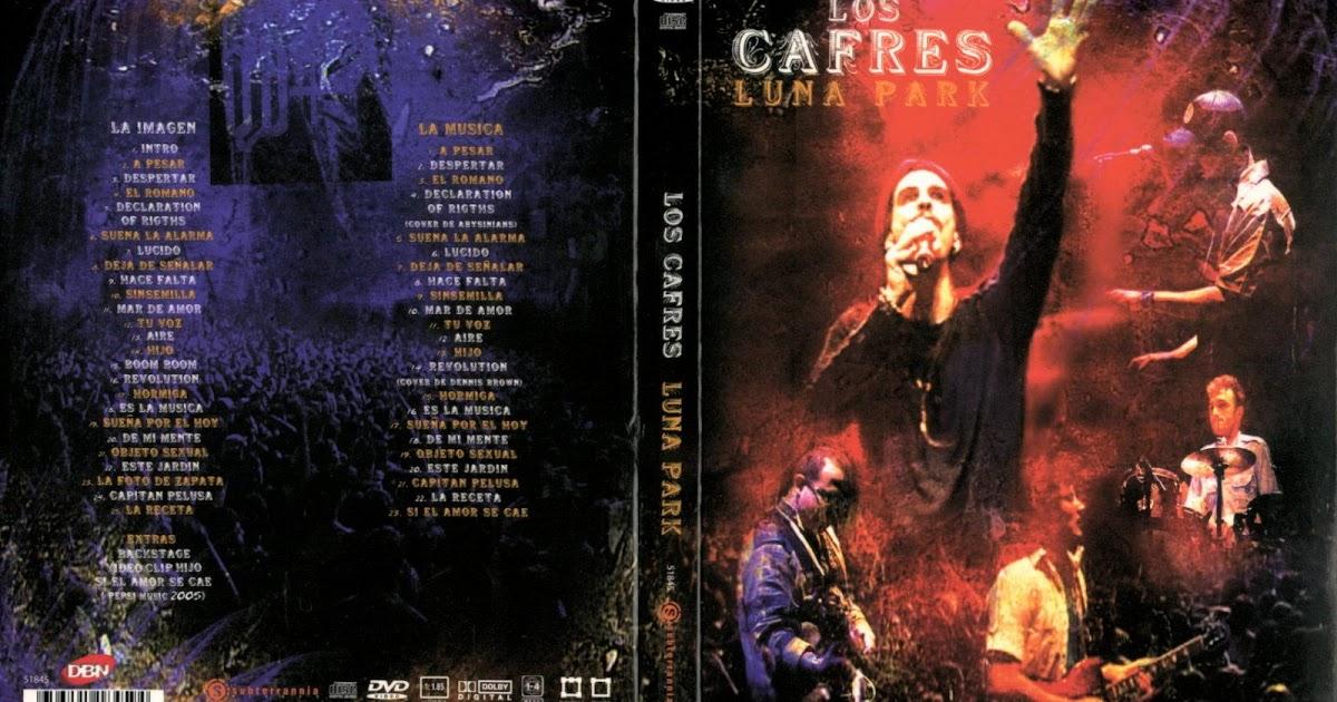 Reggae los cafres vivo luna park dvd for Cafres este jardin