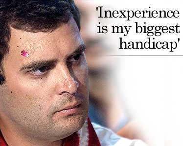 Rahul gandhi inexperience muslim