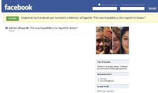 donne facebook