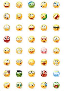 Emoticon simboli Facebook