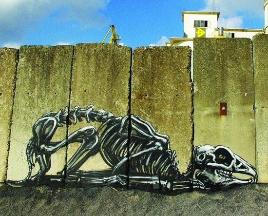 Animal Graffiti Street Art | Golberz.Com