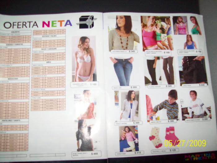 OFERTAS NETAS CAMPAÑA 06