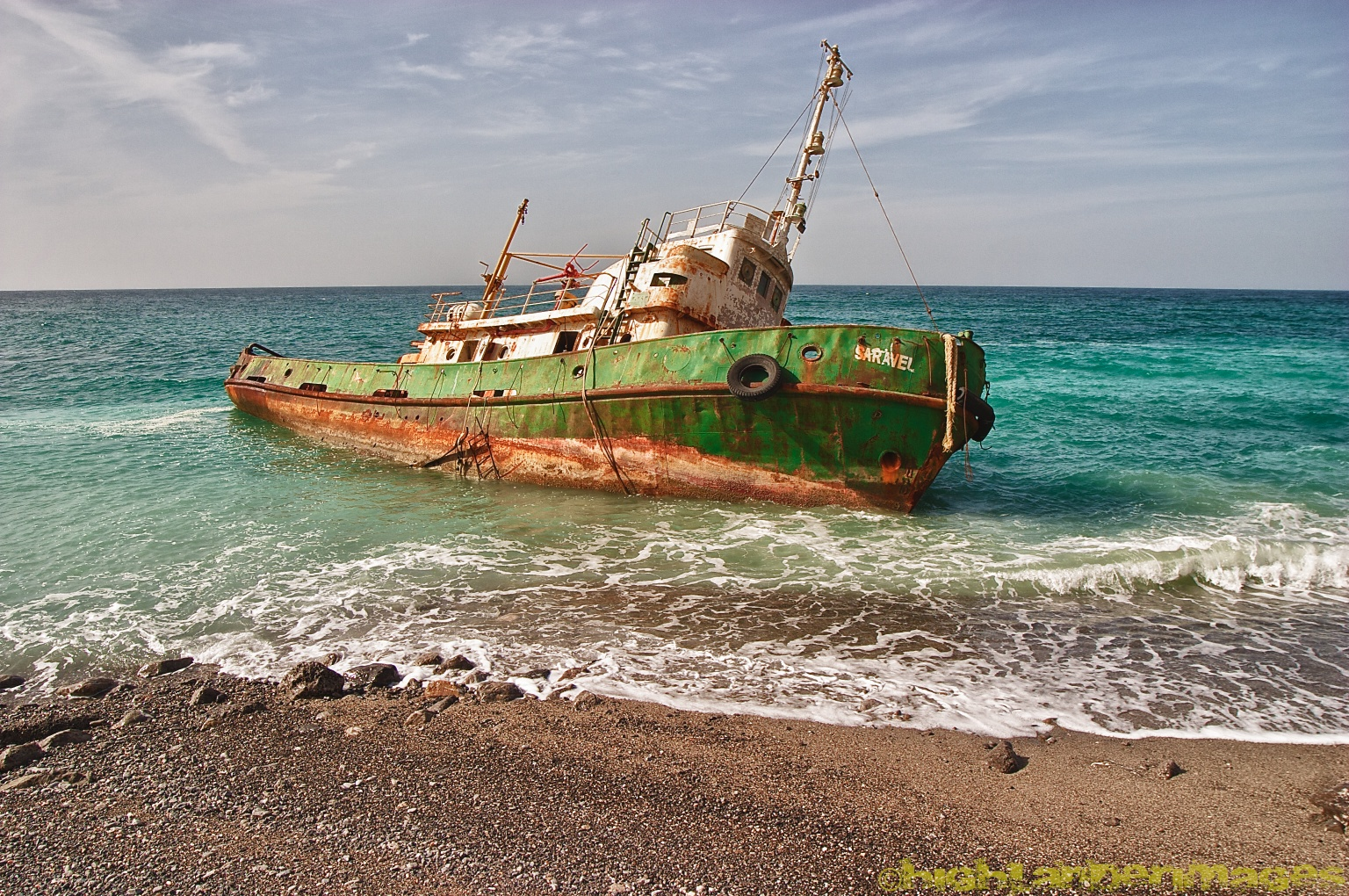 A Blogography of Photography: Shipwreck