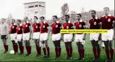 Benfica vs Barcelona ( Taça dos C. Europeus )