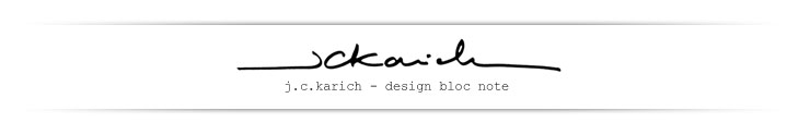 j.c.karich - design bloc note
