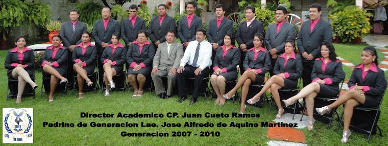 Egresados del Centro Universitario del Valle de Chiapas, CUVACH. 2007 - 2010