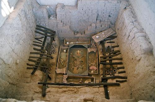 Baños Romanos Beirut:Huaca Rajada, los últimos descubrimientos de Perú