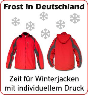 Winter-Jacken mit individuellem Druck!