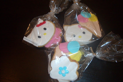 Bolachas hello kitty