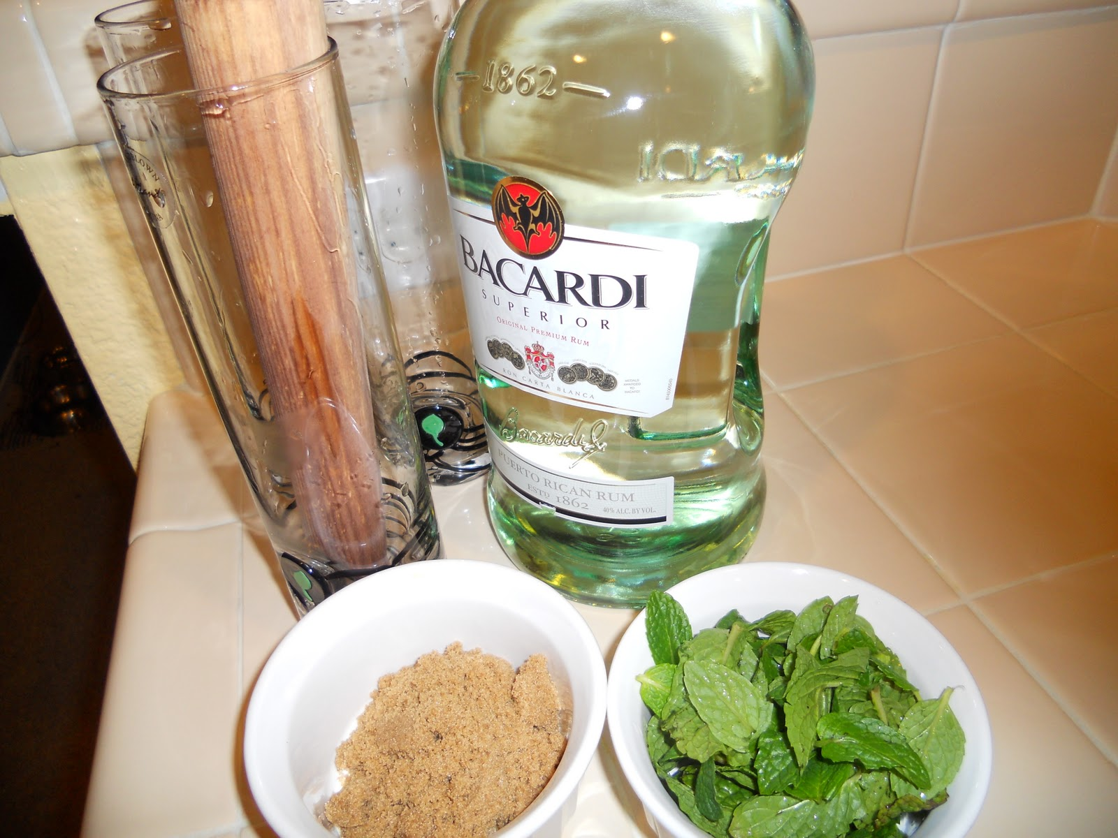 Bacardi Mojito - how to cook, drink, enjoy