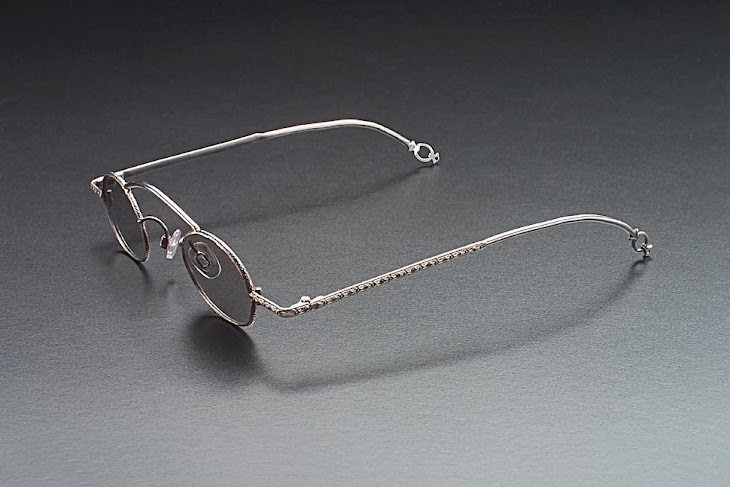 Hand made sterling eyeglasses