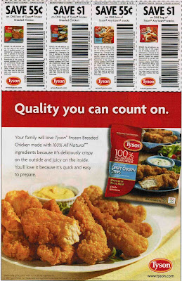 Tyson chicken coupons printable