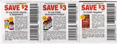 Schiff vitamins coupons
