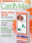 Woo hoo! I got published in the May 2010 issue of CardMaker Mag!