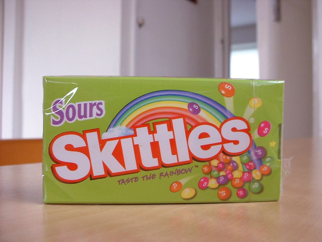 how to make sour skittles sugar