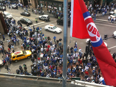 Wrigley field opening day 6