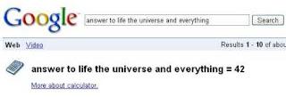 Google funny calcuator 3