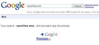 Google droping an o