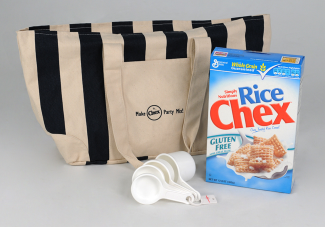 set and a Chex ® Party Mix