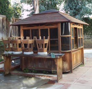 Spa hot tub jacuzzi removal and disposal services spa for Cal spa gazebo