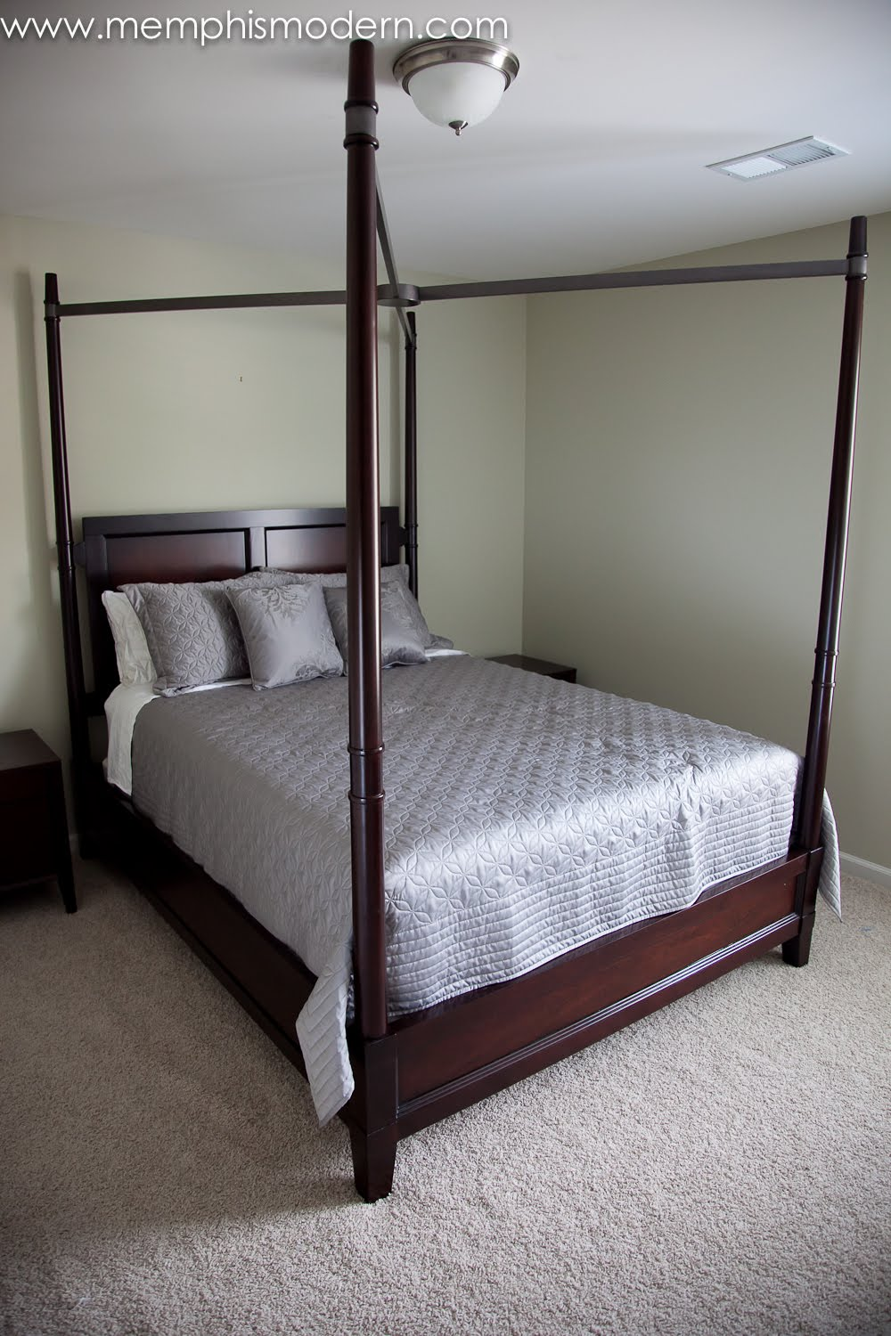 Memphis Modern Four Poster Bed