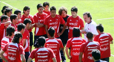 Lista de 16 convocados de Chile