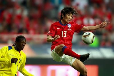 Corea del Sur vencio a Ecuador