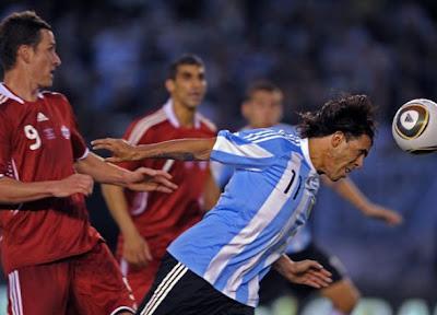 Fotos del partido Argentina 5 vs Canada 0