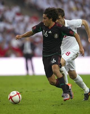 Fotos del partido Inglaterra 3 vs Mexico 1
