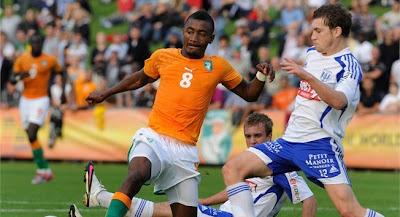 Costa de Marfil empata con Lausana