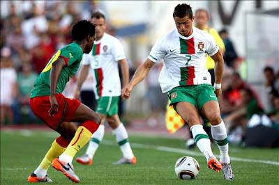 Portugal vencio a Camerun