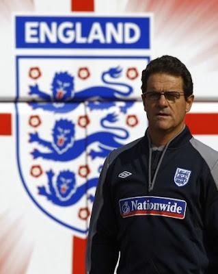 Lista definitiva de Inglaterra