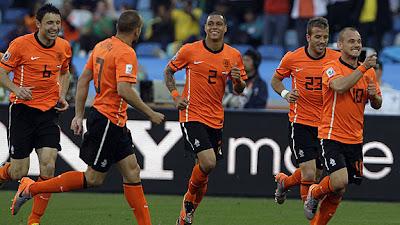 Holanda vencio a Japon
