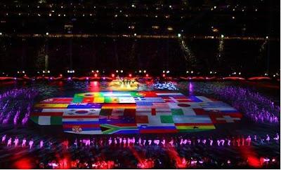 Ceremonia clausura Mundial Sudafrica 2010
