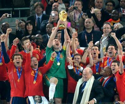 Los premios del Mundial 2010