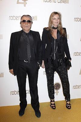 Roberto Cavalli festejo 40 años en el mundo de la moda