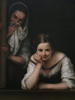 Bartolomé Esteban Murillo,Two Women at a Window, National Gallery of Art