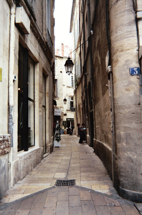 street in Pezenas,I think