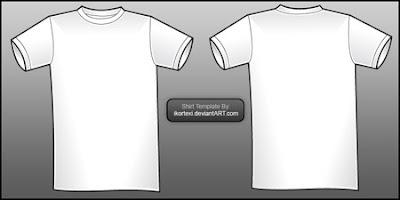 koleksi Template kaos t-shirt