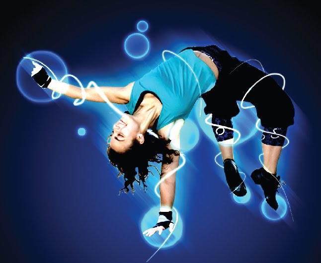 Tutorial Photoshop—Glowing Dance